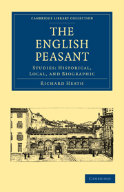 The English Peasant