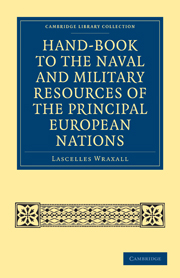 Hand-book to the Naval and Military Resources of the Principal European Nations
