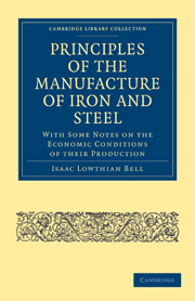 Principles of the Manufacture of Iron and Steel