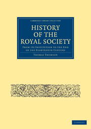 History of the Royal Society