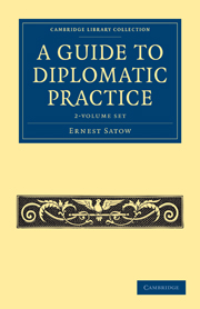 A Guide to Diplomatic Practice