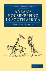 A Year's Housekeeping in South Africa