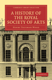 A History of the Royal Society of Arts