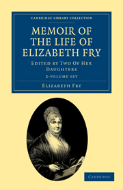 Memoir of the Life of Elizabeth Fry
