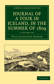 Journal of a Tour in Iceland, in the Summer of 1809