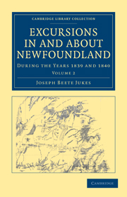 Excursions in and about Newfoundland, during the Years 1839 and 1840