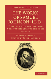 The Works of Samuel Johnson, LL.D.