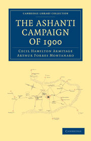 The Ashanti Campaign of 1900
