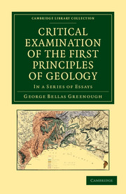 Critical Examination of the First Principles of Geology
