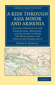 A Ride through Asia Minor and Armenia