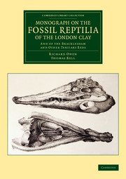 Monograph on the Fossil Reptilia of the London Clay