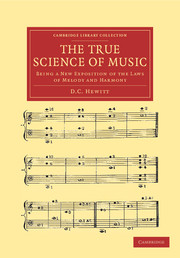 The True Science of Music