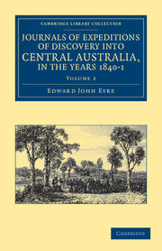 Journals of Expeditions of Discovery into Central Australia, and Overland from Adelaide to King George's Sound, in the Years 1840–1
