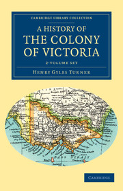 A History of the Colony of Victoria
