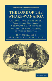 The Lore of the Whare-wānanga