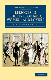 Episodes in the Lives of Men, Women, and Lovers