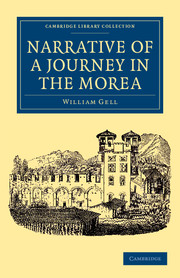 Narrative of a Journey in the Morea