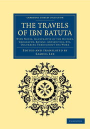 The Travels of Ibn Batūta