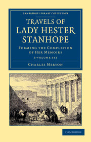 Travels of Lady Hester Stanhope