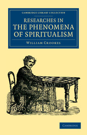 Researches in the Phenomena of Spiritualism
