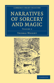 Narratives of Sorcery and Magic