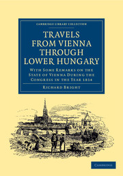Travels from Vienna through Lower Hungary
