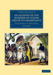 An Account of the Interior of Ceylon, and of its Inhabitants