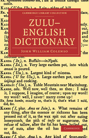 Zulu–English Dictionary
