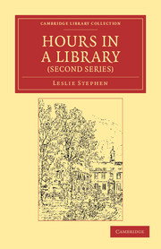Hours in a Library (Second Series)
