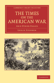 The Times on the American War