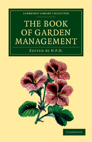 The Book of Garden Management