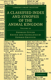 A Classified Index and Synopsis of the Animal Kingdom