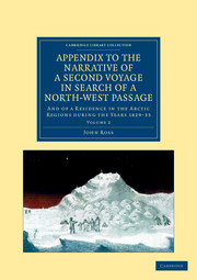 Appendix to the Narrative of a Second Voyage in Search of a North-West Passage
