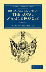 Historical Record of the Royal Marine Forces