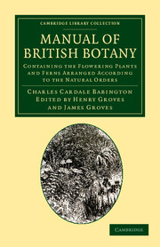 Manual of British Botany