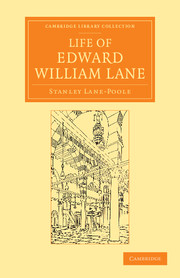 Life of Edward William Lane