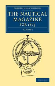 Cambridge Library Collection - The Nautical Magazine