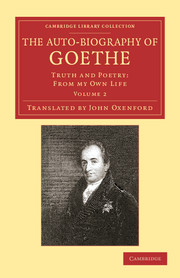 The Auto-Biography of Goethe