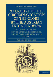 Narrative of the Circumnavigation of the Globe by the Austrian Frigate Novara