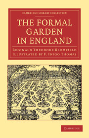 The Formal Garden in England