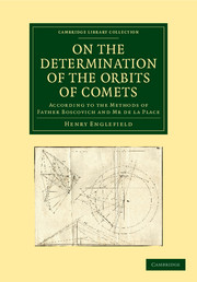 On the Determination of the Orbits of Comets