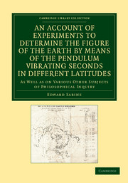 An Account of Experiments to Determine the Figure of the Earth by Means of the Pendulum Vibrating Seconds in Different Latitudes