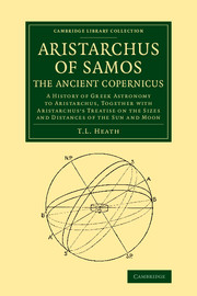 Aristarchus of Samos, the Ancient Copernicus