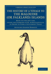 The History of a Voyage to the Malouine (or Falkland) Islands