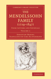 The Mendelssohn Family (1729–1847)