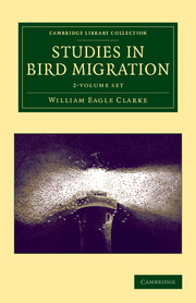Studies in Bird Migration