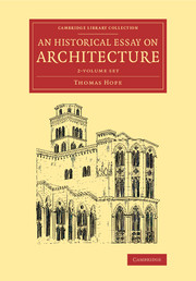 An Historical Essay on Architecture