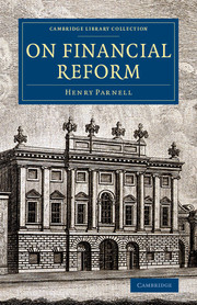 On Financial Reform