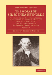 The Works of Sir Joshua Reynolds