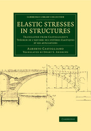 Elastic Stresses in Structures